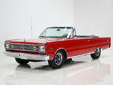 Plymouth Belvedere Satellite Convertible (RP27) 1966 pictures