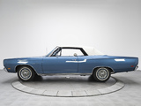 Plymouth Sport Satellite Convertible (RP27) 1969 images