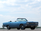 Plymouth Satellite Convertible (RH27) 1969 images