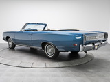 Plymouth Sport Satellite Convertible (RP27) 1969 wallpapers