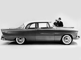 Plymouth Savoy 2-door Club Sedan 1956 wallpapers