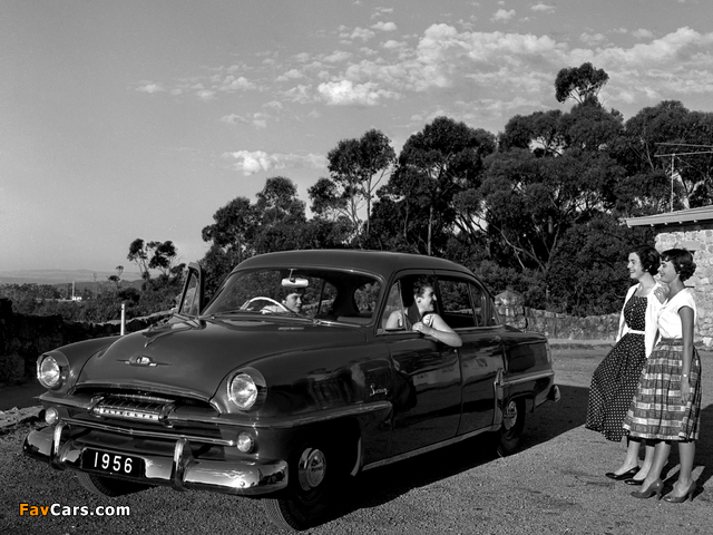 Plymouth savoy 4 door sedan au spec 1956 wallpapers 640x480 for 1956 plymouth savoy 4 door