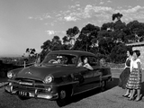 Plymouth Savoy 4-door Sedan AU-spec 1956 wallpapers