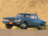 Plymouth Savoy 2-door Sedan 1962 wallpapers