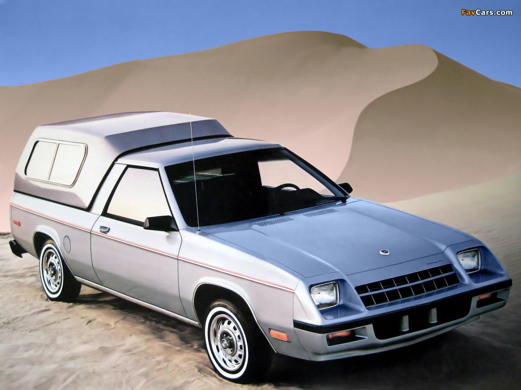 Photos of Plymouth Scamp GT 1983 (1024 x 768)