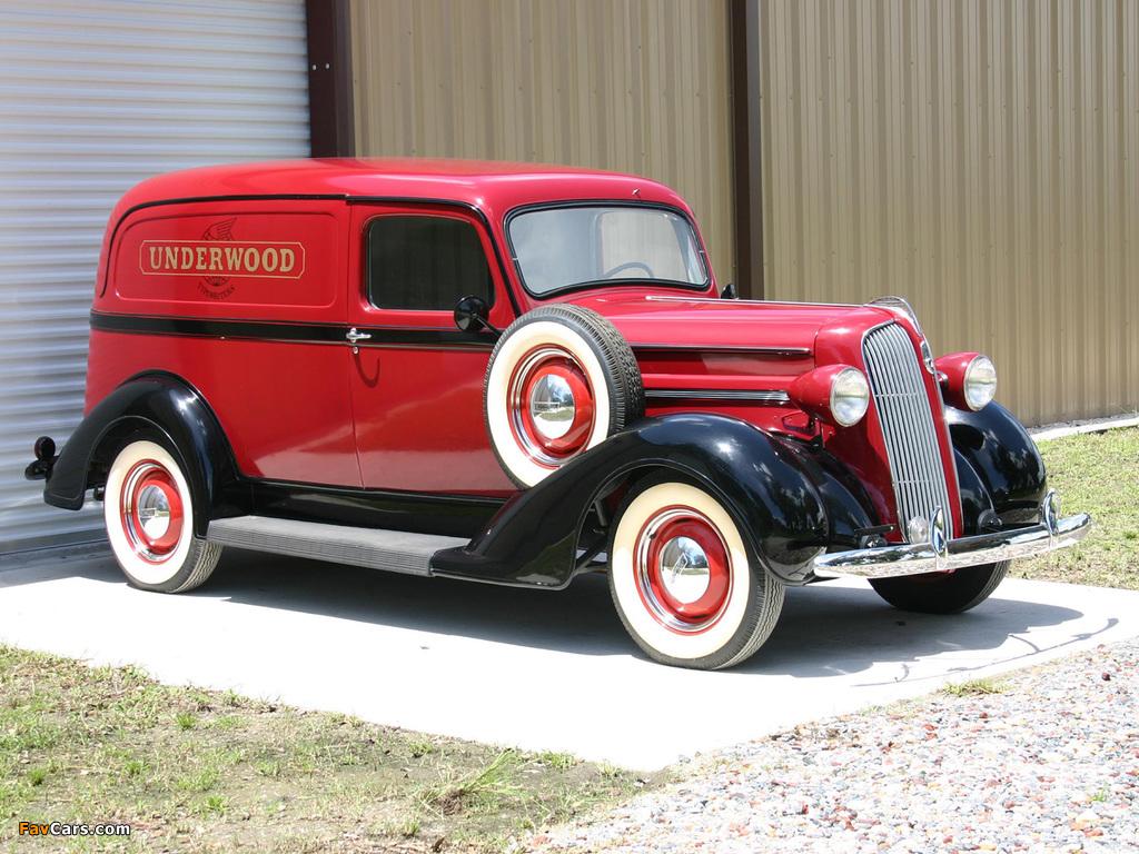 Plymouth Sedan Delivery 1937 photos (1024 x 768)
