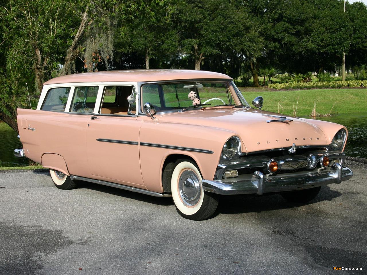 Photos of Plymouth Deluxe Suburban 1956 (1280 x 960)