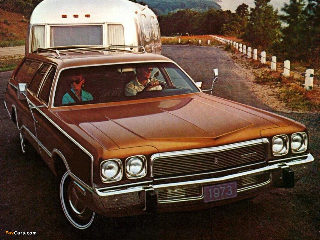 Photos of Plymouth Fury Sport Suburban (PP45/46) 1973 (1024 x 768)