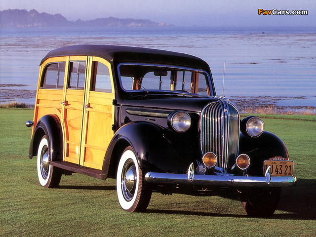 Pictures of Plymouth Westchester Suburban 1938 (640 x 480)
