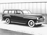 Plymouth Deluxe Suburban (P-17) 1949 photos