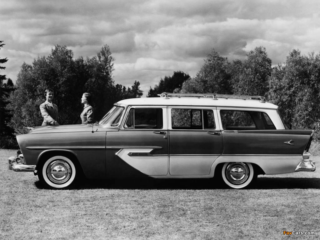 Plymouth Sport Suburban 4-door Wagon 1956 images (1024 x 768)