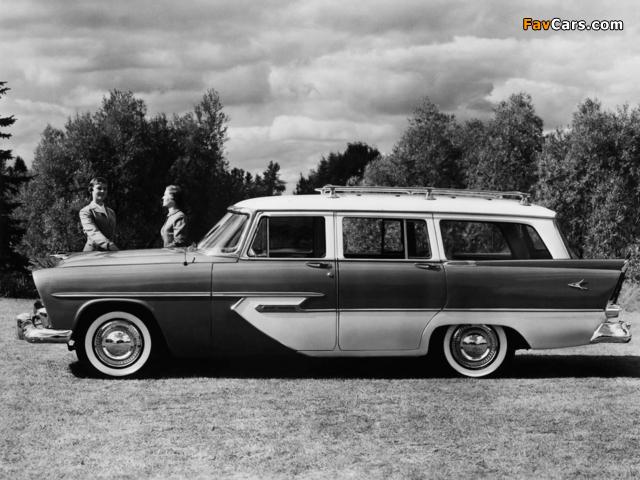Plymouth Sport Suburban 4-door Wagon 1956 images (640 x 480)