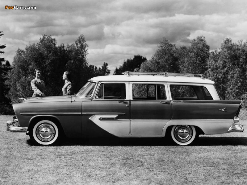 Plymouth Sport Suburban 4-door Wagon 1956 images (800 x 600)