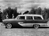 Plymouth Sport Suburban 4-door Wagon 1956 images