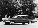 Plymouth Sport Suburban 4-door Wagon 1958 pictures