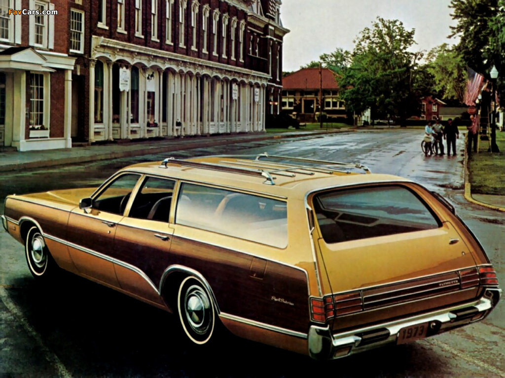 Plymouth Fury Sport Suburban (PP45/46) 1973 images (1024 x 768)