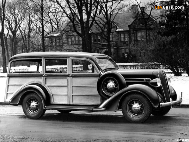 Plymouth Westchester Suburban 1936 wallpapers (640 x 480)