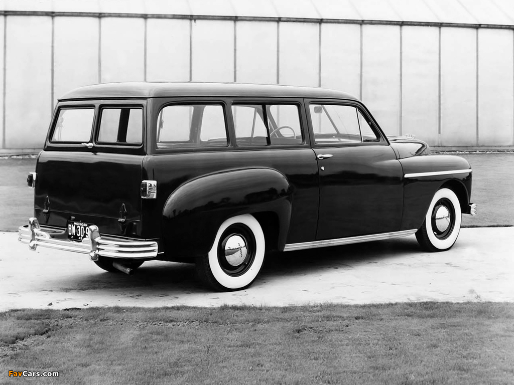 Plymouth Deluxe Suburban (P-17) 1949 wallpapers (1024 x 768)