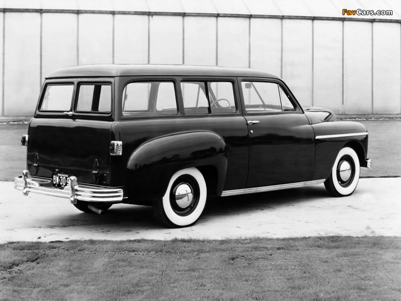 Plymouth Deluxe Suburban (P-17) 1949 wallpapers (800 x 600)
