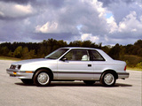 Plymouth Sundance 2-door 1986–90 photos