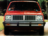 Pictures of Pontiac 1000 5-door 1984–87