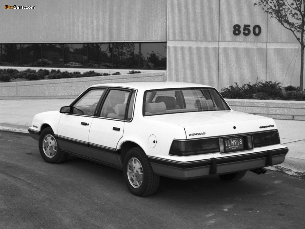 Pontiac 6000 STE 1983–87 images (1024 x 768)