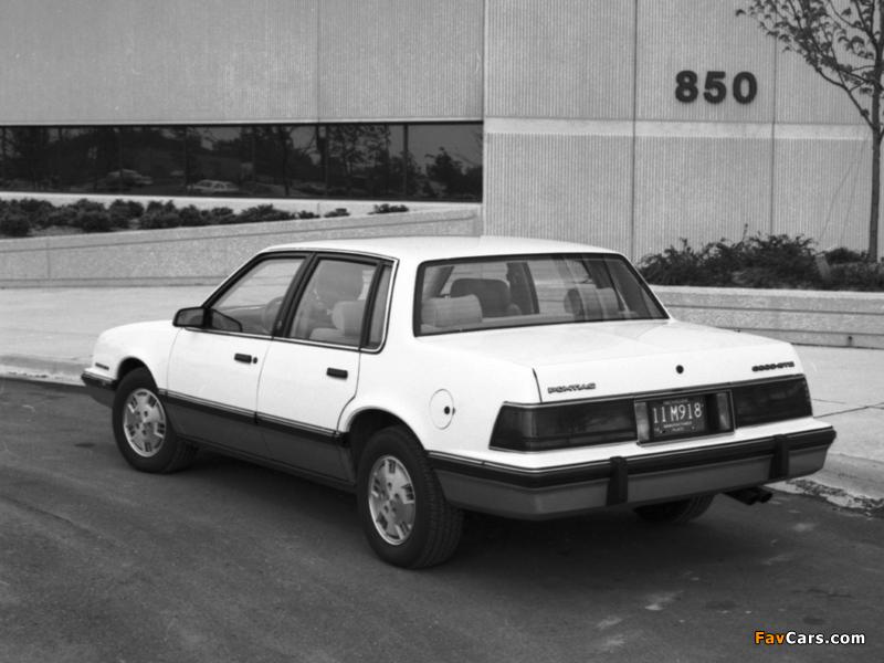 Pontiac 6000 STE 1983–87 images (800 x 600)