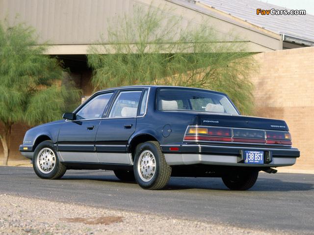 Pontiac 6000 STE 1983–87 photos (640 x 480)
