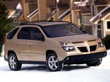 Pontiac Aztek 2002–05 wallpapers