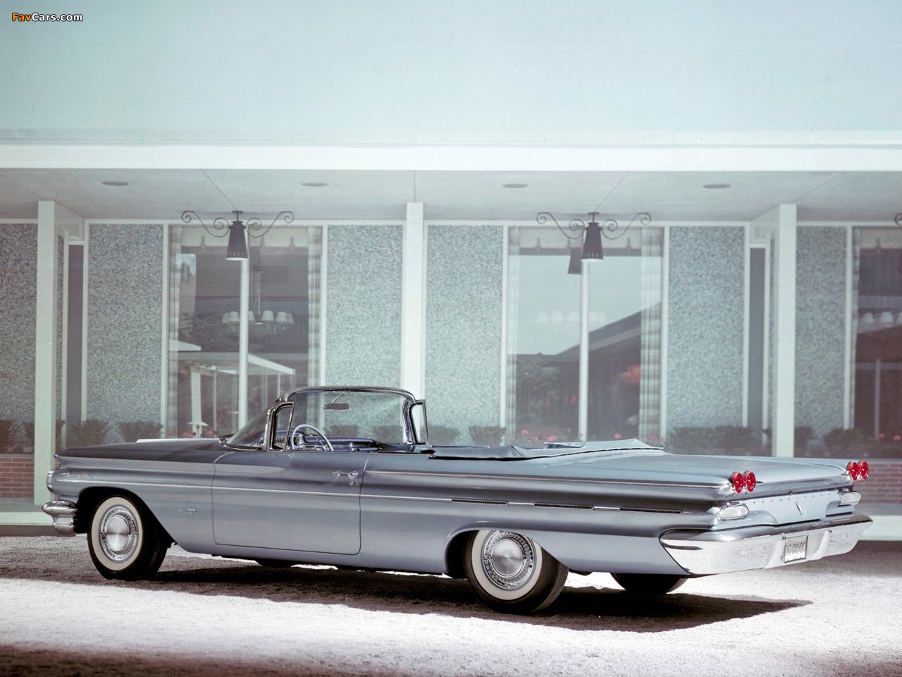Photos of Pontiac Bonneville Convertible 1960 (1280 x 960)