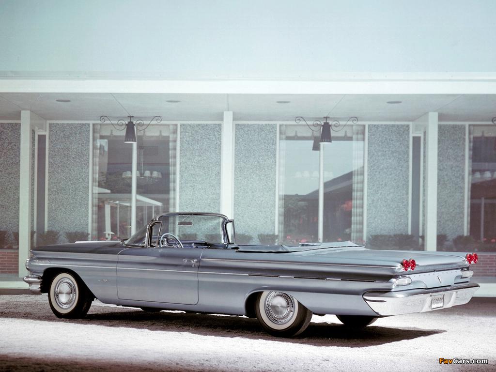 Photos of Pontiac Bonneville Convertible 1960 (1024 x 768)