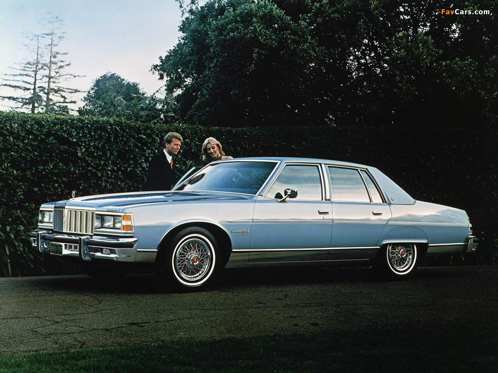 Pictures of Pontiac Bonneville Brougham 1979 (1024 x 768)