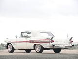 Pontiac Bonneville Convertible 1957 images
