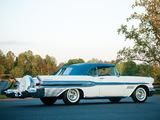 Pontiac Bonneville Convertible 1957 wallpapers