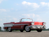 Pontiac Bonneville Convertible 1958 photos