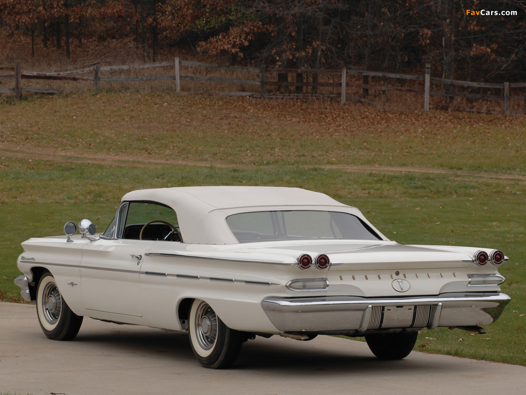 Pontiac Bonneville Convertible 1960 photos (1024 x 768)
