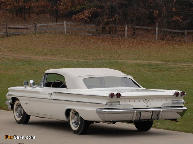 Pontiac Bonneville Convertible 1960 photos (640 x 480)