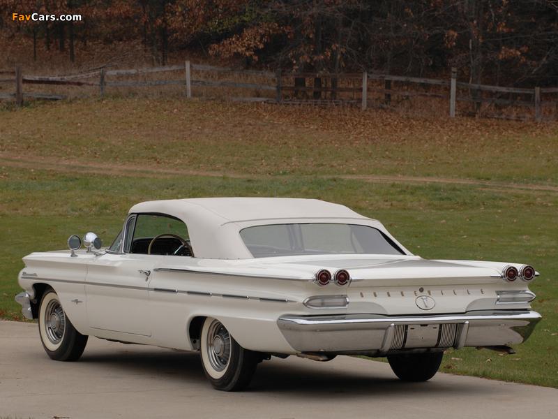 Pontiac Bonneville Convertible 1960 photos (800 x 600)
