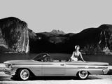 Pontiac Bonneville Convertible 1960 wallpapers