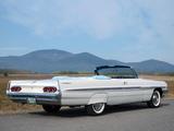 Pontiac Bonneville Convertible (2867) 1961 images