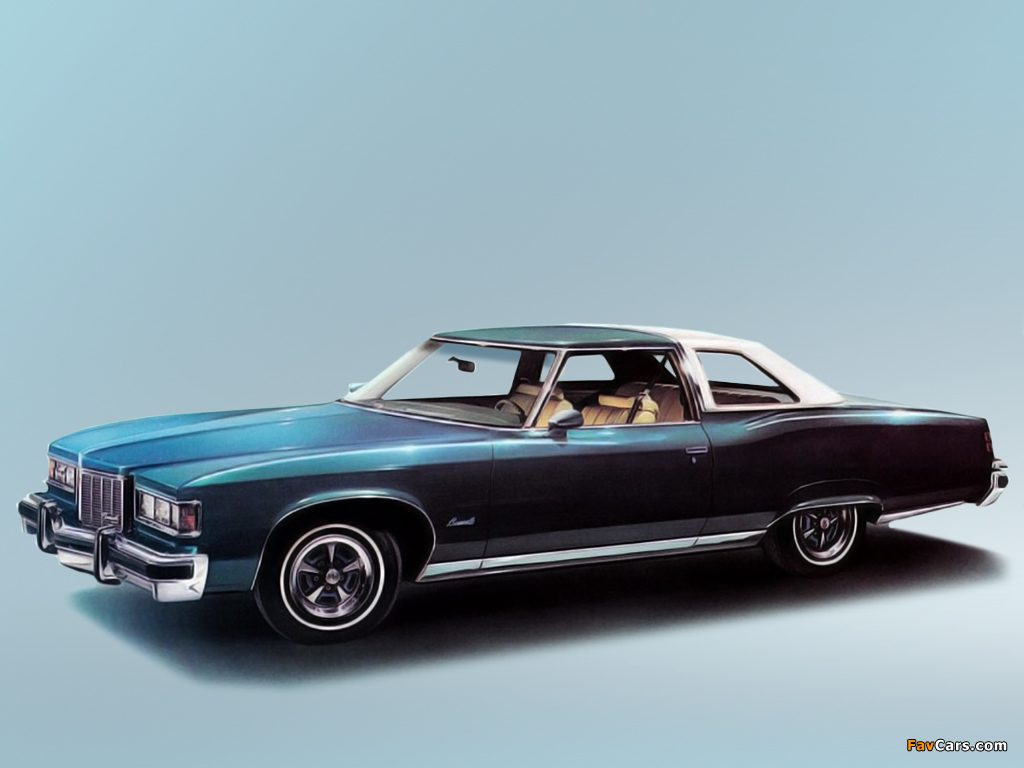 2 Door Car >> Pontiac Bonneville 2-door Landau Coupe 1976 images (1024x768)