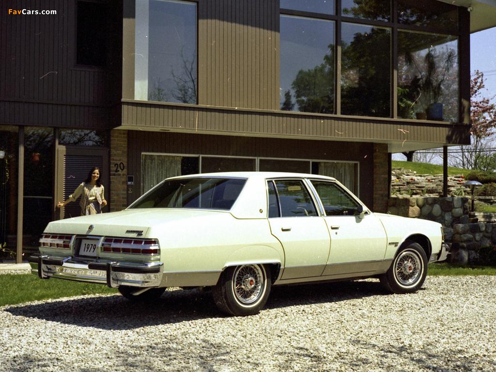 Pontiac Bonneville Brougham 1979 images (1024 x 768)