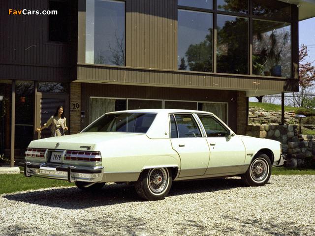 Pontiac Bonneville Brougham 1979 images (640 x 480)