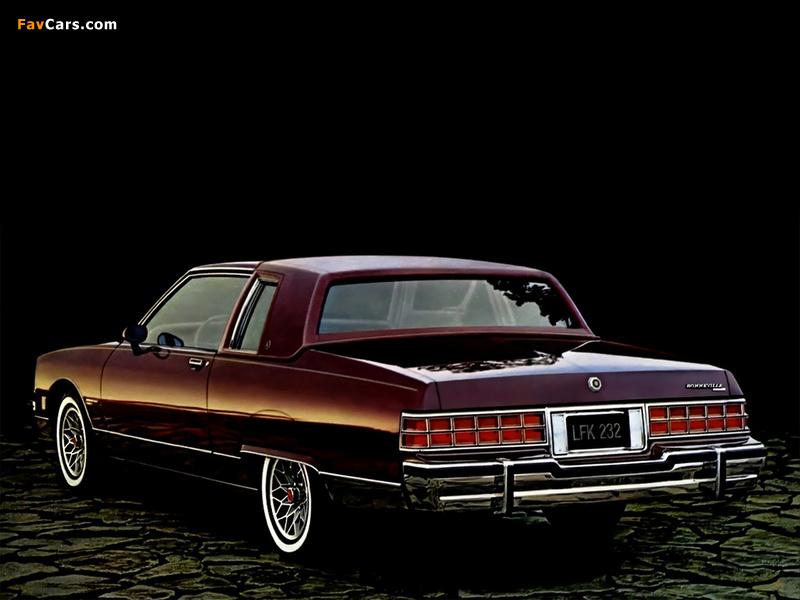 Pontiac Bonneville Brougham Coupe (Q37) 1981 wallpapers (800 x 600)