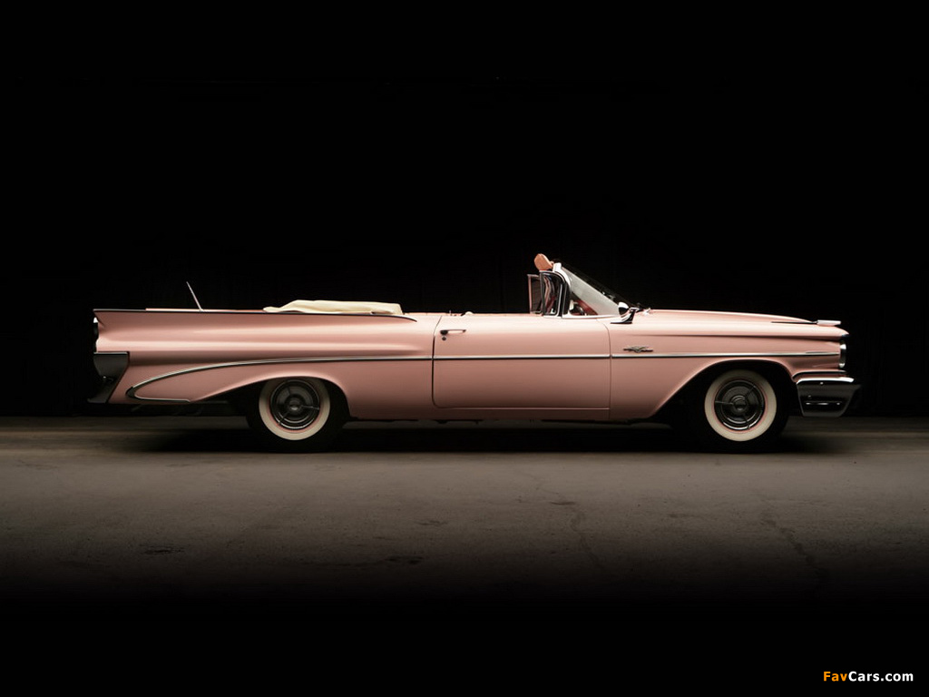 Pontiac Catalina Convertible Pink Lady by Harly Earl 1959 images (1024 x 768)