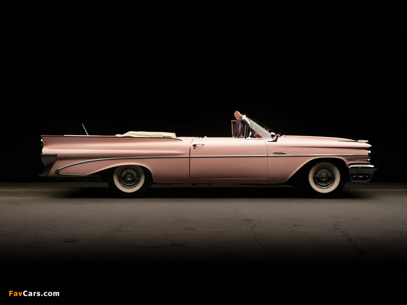 Pontiac Catalina Convertible Pink Lady by Harly Earl 1959 images (800 x 600)
