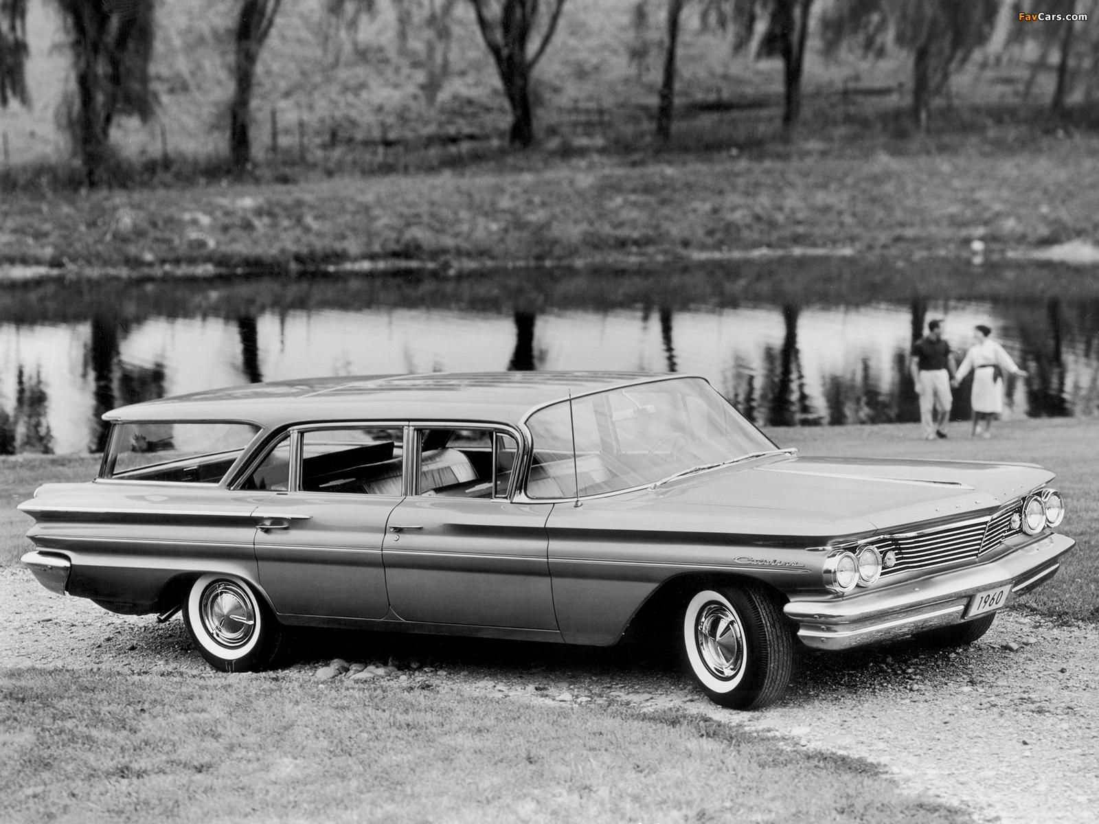 Pontiac Catalina Safari 1960 photos (1600 x 1200)