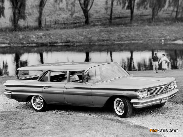 Pontiac Catalina Safari 1960 photos (640 x 480)