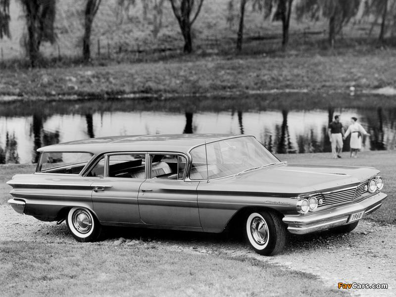 Pontiac Catalina Safari 1960 photos (800 x 600)