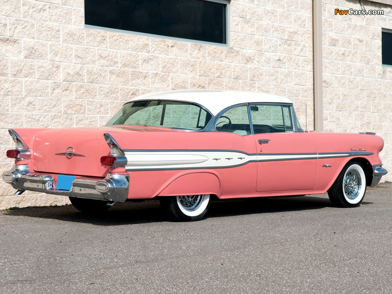 Pictures of Pontiac Chieftain Catalina Coupe (2737) 1957 (800 x 600)